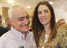 שמעון גל וחברתו גליה, צילום: אוראל כהן