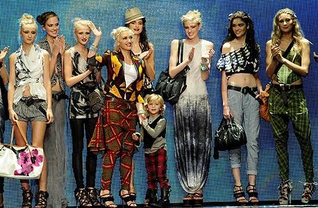 תצוגת האופנה של L.A.M.B, צילום: MCT
