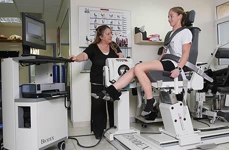 איזוקינטיקה. מטרה: לבחון תפקוד של קבוצת שרירי רגליים. מחיר: 455 שקל