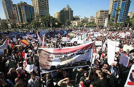 ההפגנות במצרים שהובילו להדחת מובארק