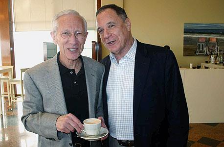 דני גילרמן עם סטנלי פישר