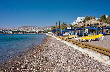 A beach in Eilat. Photo: Shutterstock