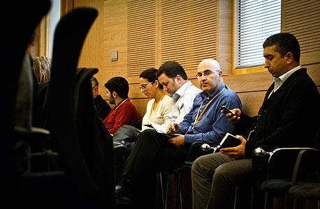 לוביסטים בדיון, צילום: מיקי אלון