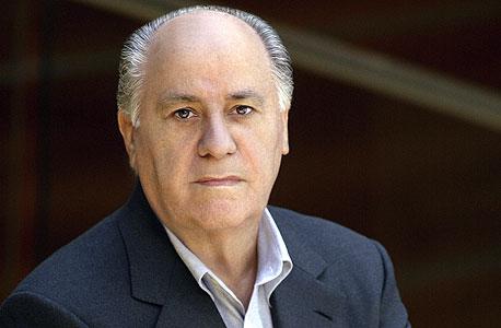 7. אמנסיו אורטגה, ספרד - 31 מיליארד דולר, צילום: בלומברג