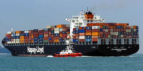 עלייה של 66% במספר ספינות המשא שיושבתו