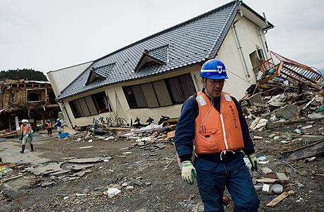 הצונאמי ביפן, צילום: איי אף פי