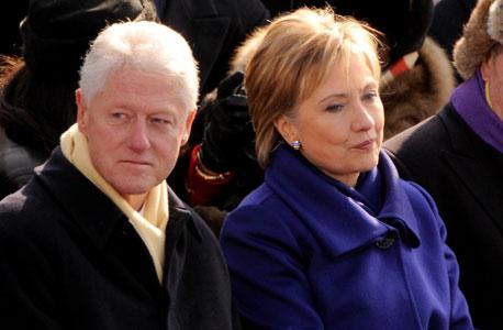 בני הזוג קלינטון, צילום:MCT