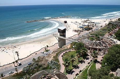 קו החוף של נתניה. סיפוח השטח של כפר נטר יגדיל את הכנסות העירייה ב-2.4 מיליון שקל השנה