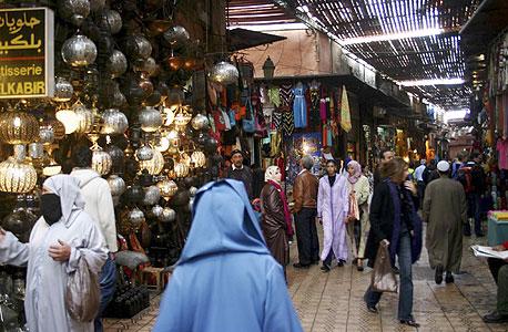 קניות במרקש, מרוקו, צילום: cc by Baruck