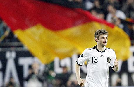תומאס מולר מנבחרת גרמניה. פטריוטיות היא לא הכרח להצלחה של נבחרת לאומית