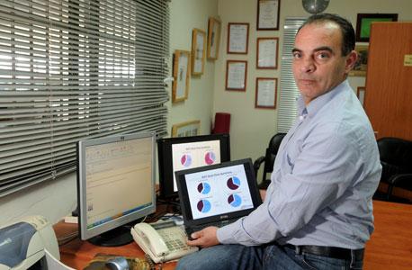 נסרי סעיד, מייסד חממת NGT, חממה טכנולוגית עם הון של 12 מיליון דולר המטפחת 16 חברות סטארט-אפ. נוסדה: 2002. עובדים: 60, צילום: דורון גולן