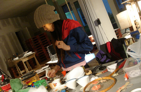 יאמאמוטו בסטודיו, צילום: bcxsy