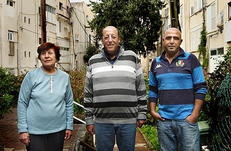 מימין: יהודה מרציאני, אראל דניאל ורחל סגל