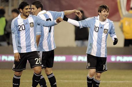 שחקני נבחרת ארגנטינה. צפי ההכנסות ממכירת מרצ