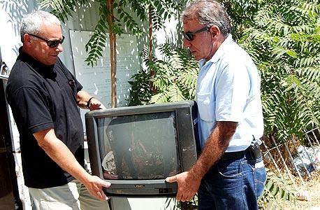 עיקול טלוויזיה על חוב (ארכיון)