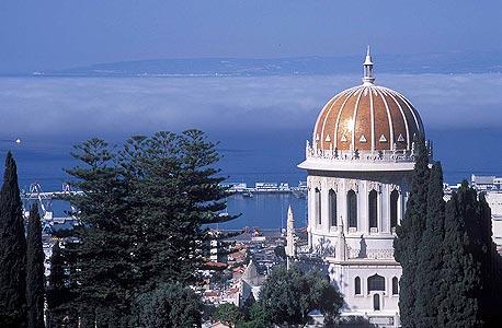 מקדש הבהאים בחיפה, באדיבות המרכז הבהאי העולמי