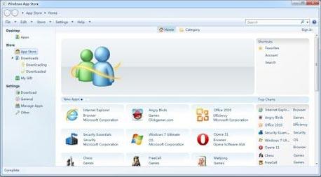 כך תיראה חנות האפליקציות לחלונות 8?, צילום מסך: cnbeta.com