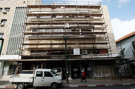 """בניין באחד העם. תוספות תמ""""א 38 יאושרו בהתאם לתוכנית הרובעים החדשה"""