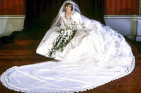 הנסיכה דיאנה ביום החתונה, צילום: איי אף פי