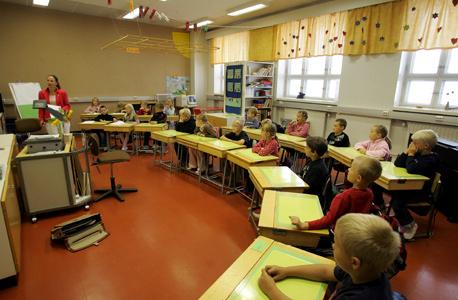 כיתה בבית ספר בפינלנד