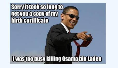 ברק אובמה התנצלות גלויה בן לאדן, צילום מסך: plixi.com