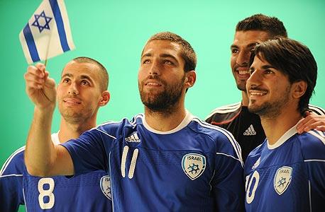 כוכבי נבחרת ישראל. שחקני הנבחרת שווים כ-44 מיליון יורו
