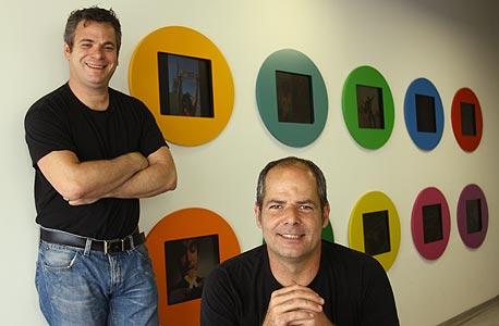 גיורא קפלן (מימין) ואבישי אברהמי, מייסדי Wix