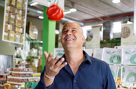 """אלעד להב, מנכ""""ל רשת אורגניק מרקט עד מכירתה, צילום: נמרוד גליקמן"""