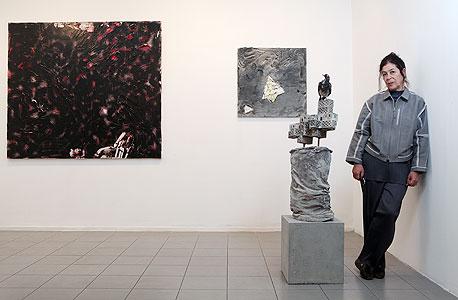 """גבעון בגלריה. """"אמנים כמו גרשוני, תומרקין ואורי היו מאוד תובעניים, והתובענות הזו לא השאירה מקום לחיים מסודרים"""""""