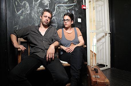 ענבל פינטו ואבשלום פולק, צילום: אוראל כהן