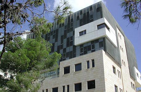 פרויקט בתכנונו של רכטר: הפקולטה למנהל עסקים בחיפה