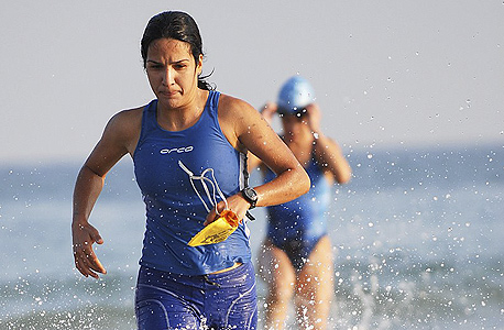 טריאתלון מכבי תל אביב, צילום: יוסי רובננקו