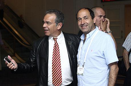 (מימין) רמי לוי, צילום: עמית שעל