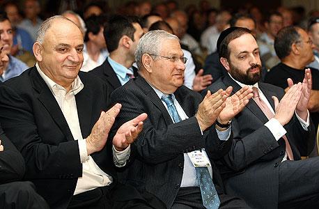 אריאל אטיאס, דוד ברודט ויצחק תשובה, צילום: אוראל כהן