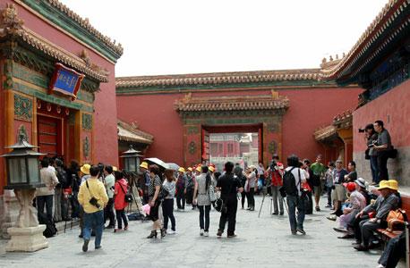 ארמון העיר האסורה בבייג'ינג. מחסן תבואה עזר לעיר להפוך לגדולה בעולם