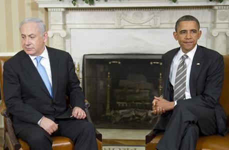 ברק אובמה ביבי בנימין נתניהו פגישה, צילום: איי אף פי