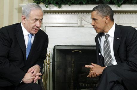 ברק אובמה ביבי בנימין נתניהו, צילום: איי פי