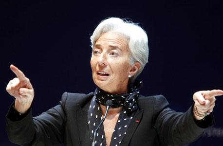 """כריסטין לגארד, יו""""ר הבנק האירופי המרכזי"""