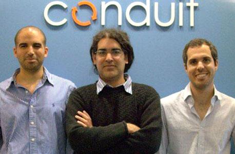 מייסדי וויביה, מימין לשמאל: דרור צדר, אבי סמילה ודניאל טל. אקזיט של 45 מיליון דולר