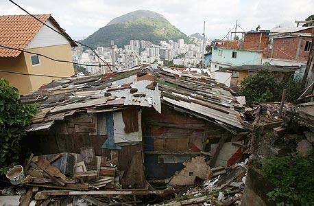 שכונת פחונים בריו דה ז'נרו, ברזיל