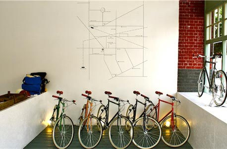 Tokyo Bike. אופניים בעיצוב יפני