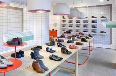 Camper. חנות נעליים מעוצבת