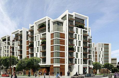 תוכנית הבנייה שאושרה בשוק בצלאל