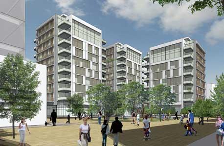 תוכנית הבנייה שאושרה בשוק העלייה