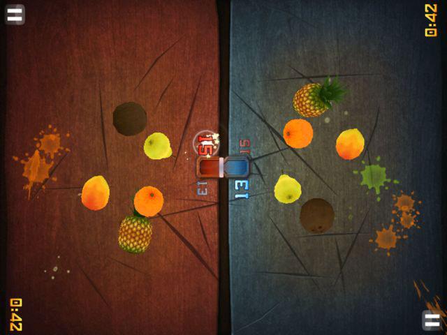 Fruit Ninja הפופולרי זכה ל-40 מיליון הורדות בסין, בתוך שלושה חודשים, לאחר שעבר לוקליזציה, צילום: מסך