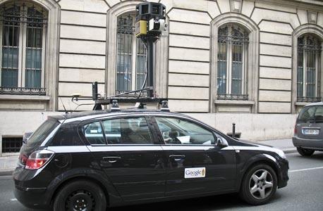 רכב הצילום של Street View