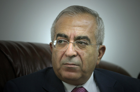 סלאם פיאד ראש ממשלת הרשות הפלסטינית , צילום: אלכס קולומובסקי