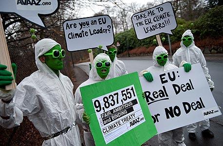 קריאה לאמנה סביבתית עולמית, נובמבר 2009