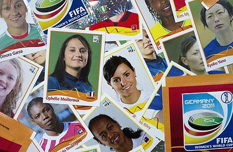הלהיט של הקיץ בגרמניה: מדבקות של כדורגלניות