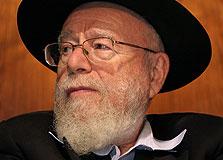 הרב דב ליאור, צילום: חיים צח